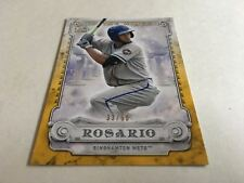 Topps Baseball Pro Debut 2017 Insert Gold In The Wings Amed Rosario 33/50