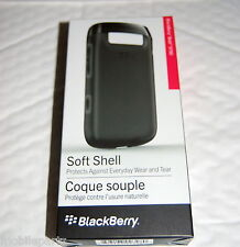Genuine Original BlackBerry Bold 9790 Black Soft Shell Protective Cover Case