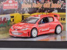 1/43 Scale model Peugeot 206 WRC - H.Solberg/C.Menkerud