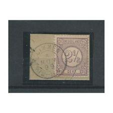 """Nederland 33 met """"LIMMEN 1899""""  kleinrond  VFU/gebr  CV 45 €"""