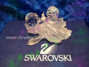 Swarovski Baby Snails on Leaf 268196 . Retired 2009. MIB+COA.