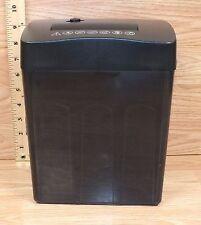 Unbranded/Generic (PS-045/B) Black Plastic Desktop Paper Shredder **READ**