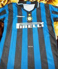 Ronaldo Luiz Nazario De Lima Signed Retro Inter Milan Jersey + Coa+Proof