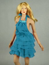 1/6 Phicen, Hot Stuff, Hot Toys, VG - Aqua Color Neck Strap Layered Party Dress