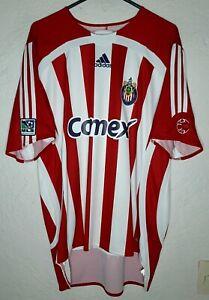MLS Chivas USA Adidas 2007 Claudio Suarez Home Soccer Jersey
