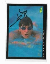 Mark Spitz Signed 1992 Classic Games Card US Olympics Swimming