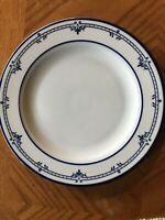 1 Mikasa Cera Stone NEWPORT 10.5 Inch Dinner Plate Blue White Made In Japan