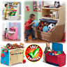 Large Toy Box Storage Chest Bin Bookcase Kid Boy Girl Child Playroom Organizer