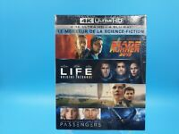 neuf film blu ray 4H ultra HD coffret 4 films blade life contact passengers