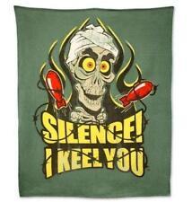 Jeff Dunham Achmed Silence! I Keel You! Fleece Bed Throw Blanket NEW. UK Seller.