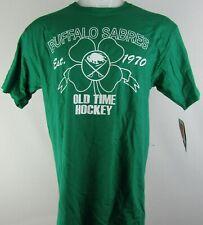 Buffalo Sabers ReeBok Nhl Men's Old Time Hockey Short Sleeve Shirt
