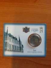 LUXEMBOURG LUXEMBURG 2 EURO 2007 COINCARD