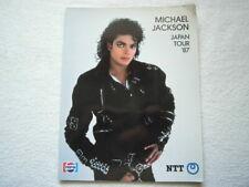 MICHAEL JACKSON 1987 / JAPAN TOUR PROGRAM BOOK / concert / JACKSONS / Jackson5