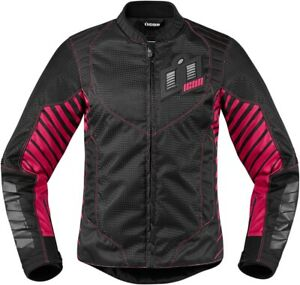 Icon 2822-0829 Wireform Women's Textile Jacket S Pink