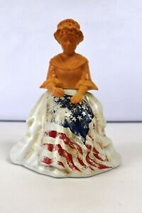 "Vintage Betsy Ross Avon Bottle Empty Figurine Doll Decorative Collectibles ""K"