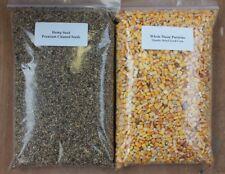 Maize Particles & Hemp Seed 4kg Twin Pack - Unprepared Spod Mix