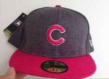 Chicago Cubs Mother's Day Collection Gray Pink New Era Fitted Hat 7 3/8 Nwt