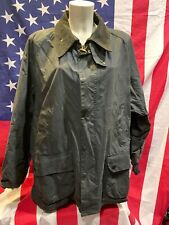 barbour bedale jacket waxed cotton  giacca blu 100%authentic c50-127 xxl
