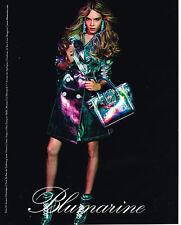 PUBLICITE ADVERTISING 094  2012  BLUMARINE    mode pret à porter