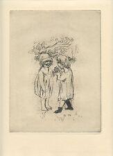 BONNARD PIERRE GRAVURE 1930 SIGNÉE SIGNED ETCHING VOLLARD POST IMPRESSIONISME