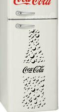 Coca Cola Blasen Bottle Aufkleber 90x27cm, z.B. für Kühlschrank Tür Farbauswahl