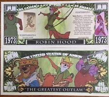 Disney Robin Good Million Dollar Bill