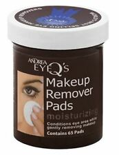 Andrea Eye Qs Eye Make-Up Remover Pads Moisturizing 65 Each