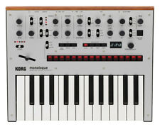 Korg Monologue (Silver) Monophonic Analogue 25-Key Synthesiser