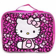 Hello Kitty Hinge Graphic Girls Insulated Lunch Box - Purple