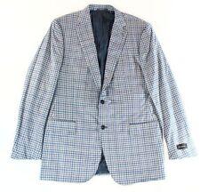 Ermenegildo Zegna Men's 100% Wool Long Jacket Two Button Blazers & Sport Coats
