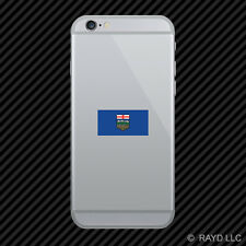 Alberta Flag Cell Phone Sticker Mobile Die Cut Canada bc province