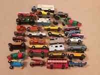 JOBLOT OLD EARLY MATCHBOX LESNEY DIECAST MOKO/SUPERFAST TOY CARS FORD GT ETC