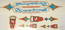 Speedwell set of decals vintage road / path / track