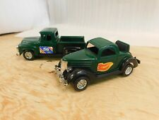 Strombecker 1956 Truck & 1936 Ford Coupe Cruzin Drive In Green Jump Seat