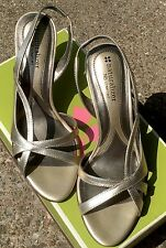 Naturalizer Comfort Heels Prissy Cosmic Dust Womans 7 1/2 Wide Shoes NEW  NIB