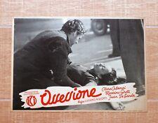 OSSESSIONE fotobusta poster Luchino Visconti Calamai Girotti Incidente Auto T47