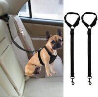 Dog Car Seatbelt Harness Adjustable Safe Restraint Security for Vehicle 2PCS