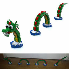 LEGO Brickley Sea Serpent Nessy dragon PDF only instructions MOC 3300001 40019