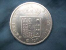 ITALIE 120 GRANA 1854 FERDINAND II NAPLES  &SICILE ARGENT