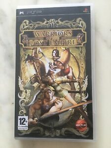 JEU SONY PSP WARRIORS OF THE LOST EMPIRE  COMPLET AVEC VERSION FRANCAISE