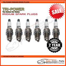 Iridium Spark Plugs for VOLKSWAGEN Passat 3B V6 FWD APR 2.8L - TPX006