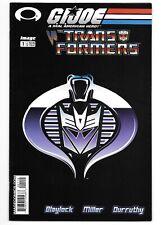 GI Joe Vs. Transformers #1 - Second Print Variant - 2003 - Rare & HTF