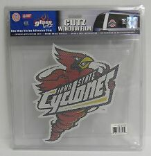 12-Inch Iowa State Cyclones Logo Perforated Vinyl Window Graphic
