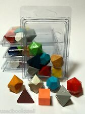 "Gamescience Assorted ""Ugly Dice"" Precision 7pc Polyhedral Set Zocchi d20 D&D NEW"