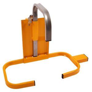 Wheel Clamp Caravan Trailer Car Security Heavy Duty Key Lock Security Wheel Lock