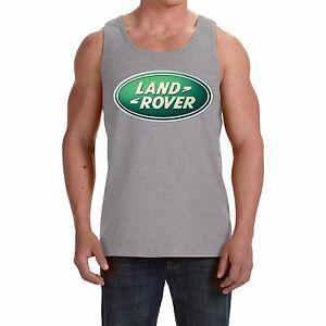 Land-Rover NEW Men's Tank Top Vest - Sleeveless t-shirt  print by EPSON
