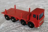 """VINTAGE 1960'S LESNEY """"MATCHBOX SERIES"""" NO.10 PIPE TRUCK (NO PIPES)"""
