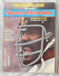 Joe Green Pittsburgh Steelers 1975 Sports Illustrated Magazine Ex