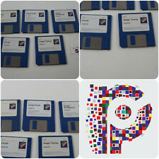 Commodore Amiga 1200 3.0 Workbench full 5 Disk Set tested & working VGC