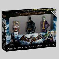 Batman The Joker Harley Quinn 3-pack Arkham Asylum 10th Anniversary